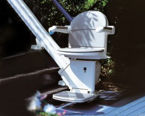 Companion Outdoor 1000 Straight Stairlift