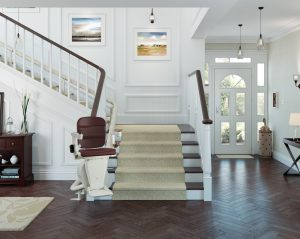 Companion Freecurve Curved Stairlift